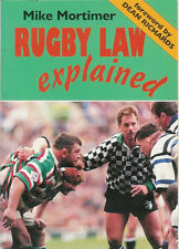 """Rugby Law Explained"" by Mike Mortimer Rugby Book"