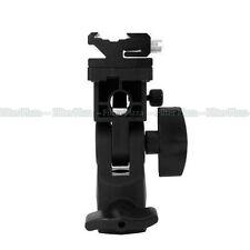 Flash Hot Shoe Adapter Umbrella Holder Swivel Light Stand B Type for Canon Nikon