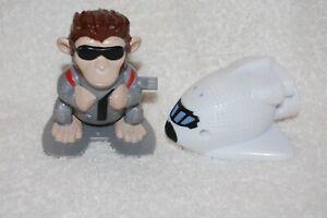Carls Jr Toy Winding Space Monkey and Ship 2008 Carl Karcher Enterprise