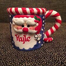 Ceramic Christmas Santa Claus Coffee Mug - KYLE