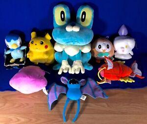 Nintendo Pokemon Plush Figure Toy Lot Of 8 Stuffed Animals Pokemon Center Tomy