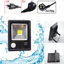 LED Flood Light 30W PIR Motion Sensor Spotlight Security For Garden Lamp Modern