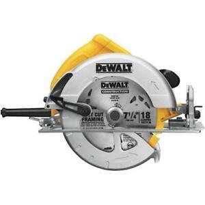 DeWALT DWE575 7-1/4-In Electric Next Gen Circular Saw Cutting Tool