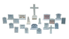 Woodland Scenics D201 HO Tombstones (20) Train Scenery