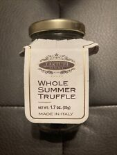 New & Sealed Tartufi Jimmy Whole Black Summer Truffles 50g/1.7oz Jar BB: 10/2023