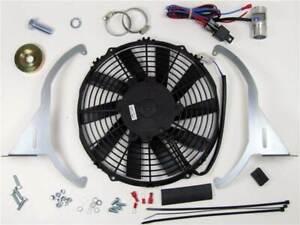 Revotec Electronic Cooling Fan Conversion Kit Triumph GT6 Negative Earth