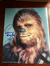 Peter Mayhew Chewbacca Star Wars Signed Autographed 8x10 Photo