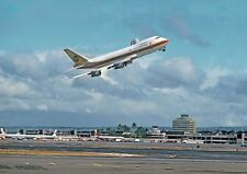 """Continental Airlines Boeing 747 ((8.5""""x11"""")) Print"""