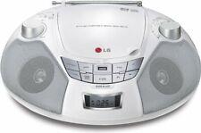 LG SB16W Boom box - Radio Stereo Lettore CD Mp3 AM FM - Porta USB Bianco - NUOVO
