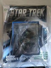 Eaglemoss Star Trek Borg Queen Ship & Mag New Sealed