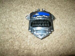 Vintage Authentic Produce Haulers Badge