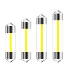 Car Lights 10pcs Ampoule LED 360 Degrés éclairage Intérieur De Voiture Brillant