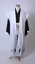 Bleach 10th Division Captain Toushiro Hitsugaya Cosplay Costume Outfit Halloween