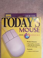 vintage 3 button mouse win 95 compatible.