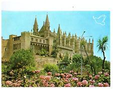 La Catedral Palma de Mallorca, Spain Rare Picture Postcard Postmarked 1996