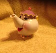 Disney Mrs. Potts Teapot Toy Pretend Tea Comes Out the Spout Beauty & the Beast