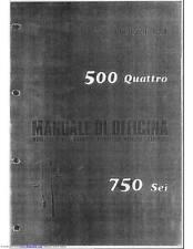 Benelli Service Workshop Manual 500 Quattro & 750 Sei