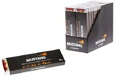 Mustang Long 20 cm Wooden Matches for Campfires, fireplaces, Barbecue tan Candle