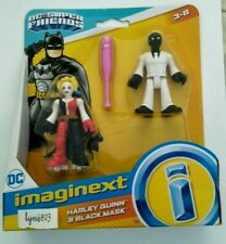 NEW IMAGINEXT DC SUPER FRIENDS Harley Quinn + Black Mask Action Figures