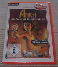 PC juego CD ROM/Ankh-la maldición del skarabäenkönigs/nuevo & OVP