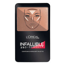 L'Oreal Paris Infallible Pro-Contour Contour & Highlight Palette, Deep 815