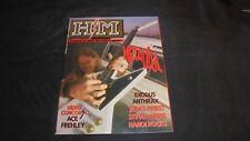 H/M rivista magazine metal #29/87 Metallica Exodus Anthrax PRIEST Harris TOP