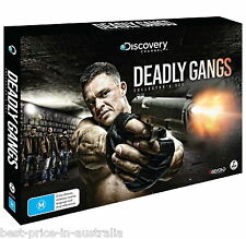 DEADLY GANGS Collectors Set DVD 2016 BRAND NEW RELEASE 7-DISCS BOX DISCOVERY R4