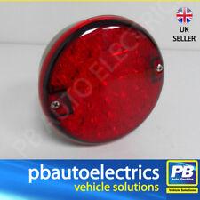 Camelot Automotive Round Red Rear Fog Light LED - CRFL 101