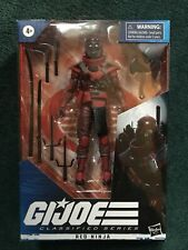 gi joe classified series red ninja