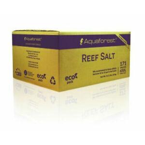 AQUAFOREST REEF SALT 25kg REFILL CONSTANT COMPOSITION CORAL MARINE AQUARIUM TANK