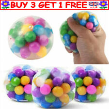 Squishy Sensory Stress Reliever Ball Toy Autism Squeeze Anxiety Fidget Relief R3