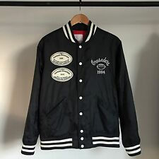 SUPREME CRUSADERS VARSITY JACKET MA-1 MILITARY NAVY BOX LOGO M65 A2 DECK SS10 M