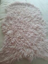 Fluffy Faux Fur Area Rug Shaggy Floor Carpet Mat Anti-Slip Living Room Bedroom