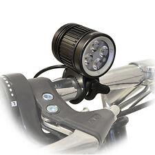 Lumintrail 1600 Lumen LED Bike Headlight USB Rechargeable with Helmet Strap