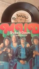 "MUD SHAKE IT DOWN 1976 UK PRIVATE STOCK 7"" 45 PVT 65"