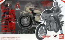 New Bandai SH Figuarts Masked Rider No.2 & Cyclone remodeling Set about Painted