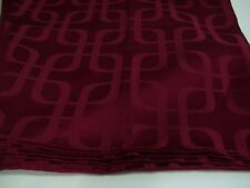 "Boutique Collection Damask Burgundy Tablecloth 50"" x 68"" NWOT"