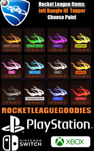 Rocket League Items - Jolt Bangle III Painted - PS4 - PS5 - XBOX ONE - Switch
