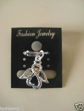 Faith Open Heart Angel With Blessed Mustard Seed Pendant/ Charm