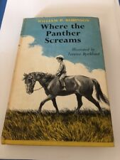 Where The Panther Screams 1st Edition Book William P. Robinson