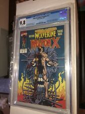 Marvel Comics Presents 72 CGC 9.8 Origin of Wolverine 1st app Weapon X KEY 🔥