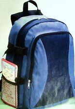 Rucksack blau mit vielen Extrafächern u. gepolsterten Gurten - NEU & OVP