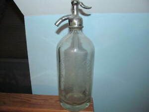 Seltzer Bottle joseph Catelli Kingston, N.J. 26 Fl. oz.
