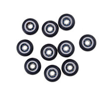 10x Miniature Metal Shield Pulley Wheels Roller 695ZZ 5x23x7.5mm  Bearings *uLO