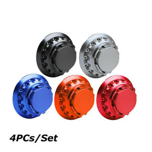 4pcs Fit for Porsche Wheel Center Hub Caps Universal Wheel Rim Center Cap 76mm