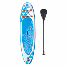 Banzai 10' Inflatable SUP Stand Up Paddle Board w/ Adjustable Paddle & Backpack