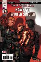Tales of Suspense Hawkeye & Winter Soldier #102 Marvel Comic 2018 1st print NM