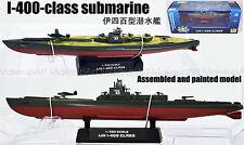 WWII Japan I-400 class submarine Sentoku U-boat 1/700 no diecast boat Easy model