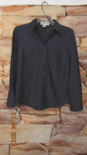 The Works Saks Fifth Avenue Women's Shirt Gray  SIZE 6