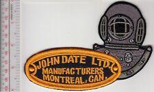 SCUBA Hard Hat Diving Canada John Date Diving 12 Bolts Helmet Manufacturers blac